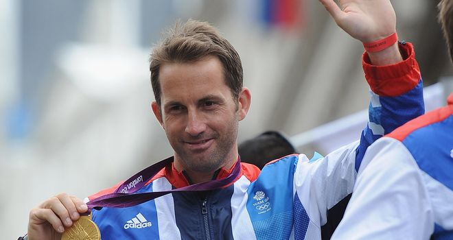 Ben Ainslie: Four-time gold medal winning sailor is now a Sir