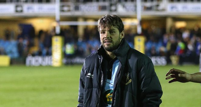 Ben Foden: set to spend between 10 and 12 weeks on the sidelines