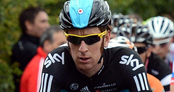 Bradley Wiggins: Recuperating at home after crash on Wednesday
