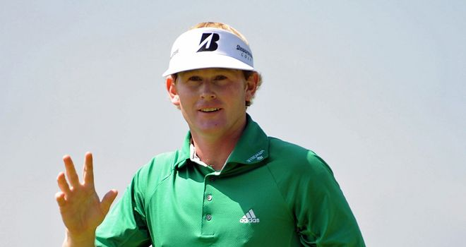 Brandt Snedeker: his 64 equalled the best round of the week