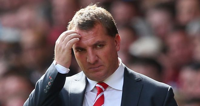 Rodgers: frustrated at his lack of forward options