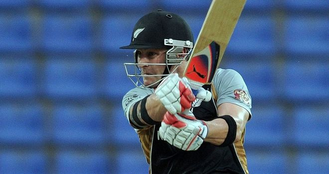 McCullum: the first man to score two Twenty20 international hundreds