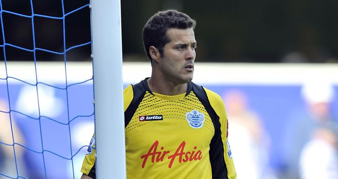 Julio Cesar: Says he is not sorry he joined QPR in the summer