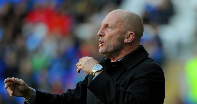 Ian Holloway: Blackpool manager has been the subject of an approach from Crystal Palace