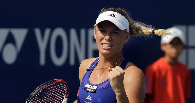 Caroline Wozniacki: On the brink of semi-final spot