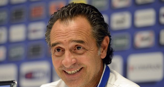 Cesare Prandelli: Italy coach looking to change team for 2014 World Cup