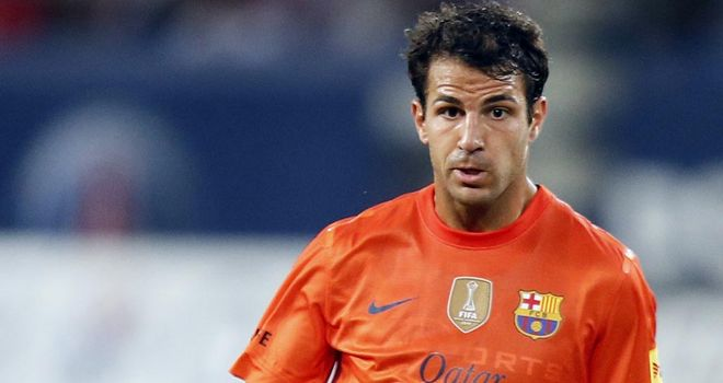 Cesc Fabregas: Frustrated by inconsistent performances at Barcelona