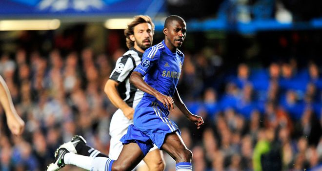 Andrea Pirlo shadowing Ramires at Stamford Bridge. But he was almost a Chelsea player.