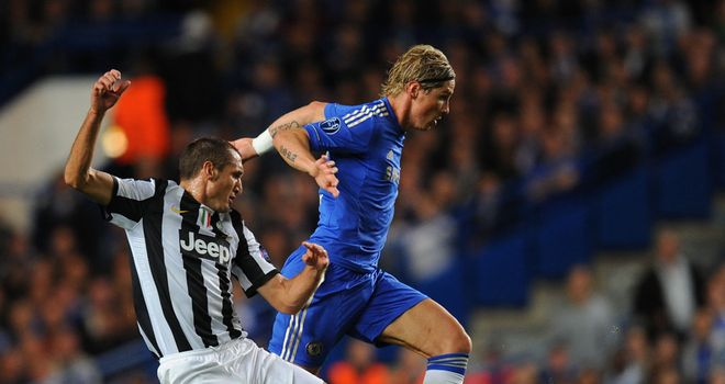Fernando Torres in full flow against Juventus. But for how long?