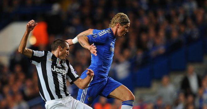 Fernando Torres in full flow against Juventus. But for how long?
