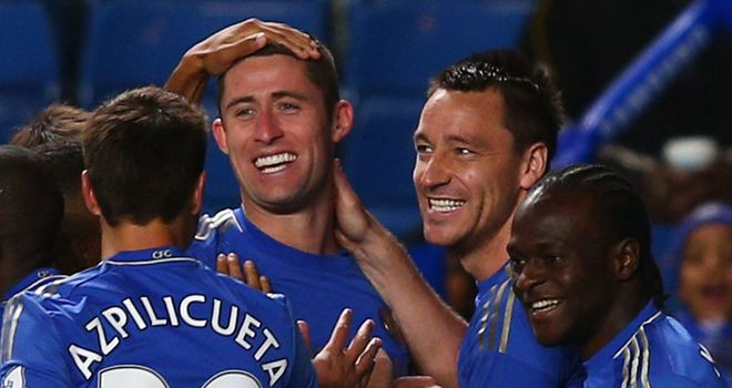 Cahill (c): Celebrates his early opener