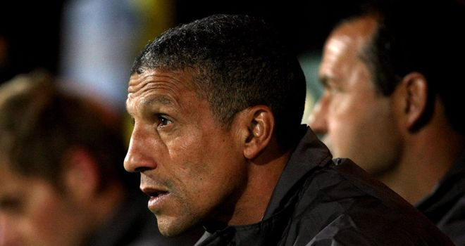 Hughton has paid tribute to counterpart David Moyes ahead of Everton trip