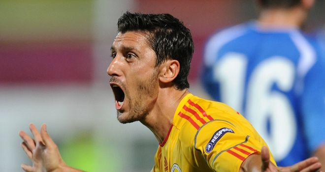 Ciprian Marica: Helped Romania to a 1-0 win over Turkey