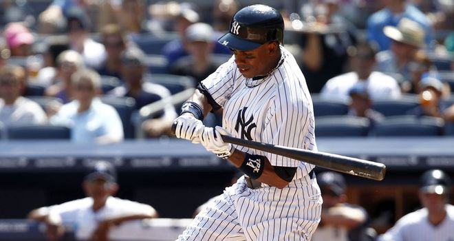 Curtis Granderson: Homered as the New York Yankees beat the Toronto Blue Jays 5-3