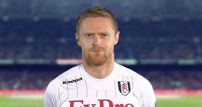 Fulham winger Damien Duff has extended his stay at Craven Cottage