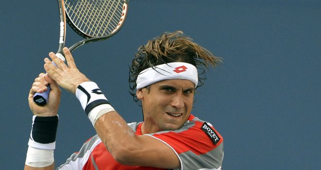 David Ferrer overcame a tricky first set to beat Alex Bogomolov