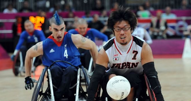 Great Britain crashed out of wheelchair rugby medal contention on Friday