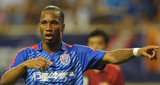 Didier Drogba: Admits his start in China has 'generated good and bad reviews'