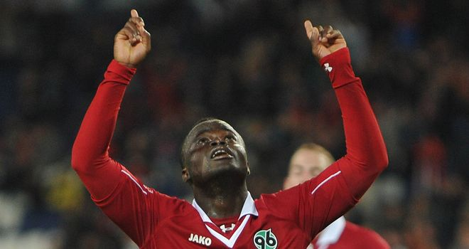 Didier Konan: On target for Hannover
