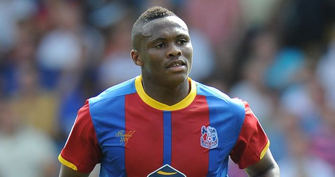 Kagisho Dikgacoi: Scored a late winner as Crystal Palace beat Peterborough to go back to the top