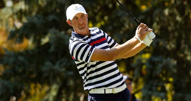 Dustin Johnson held his nerve to close out Nicolas Colsaerts