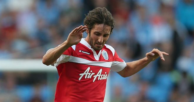 Esteban Granero: Says joining QPR from Real Madrid was an easy decision