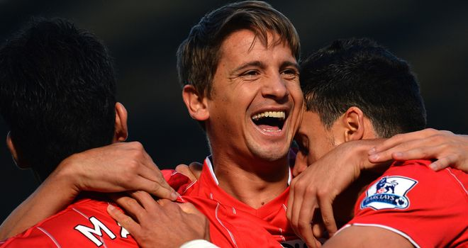 Gaston Ramirez: Linked with a  move to Fiorentina but Prade says it is not possible in January