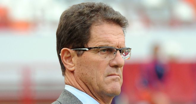 Fabio Capello: Wants Russia to be on their toes