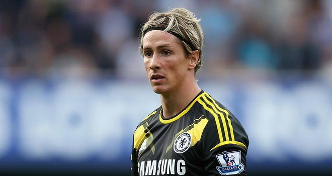 Fernando Torres: Chelsea striker endured a difficult afternoon against Queens Park Rangers