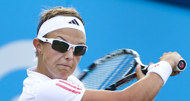 Kirsten Flipkens: Continued impressive run in Quebec
