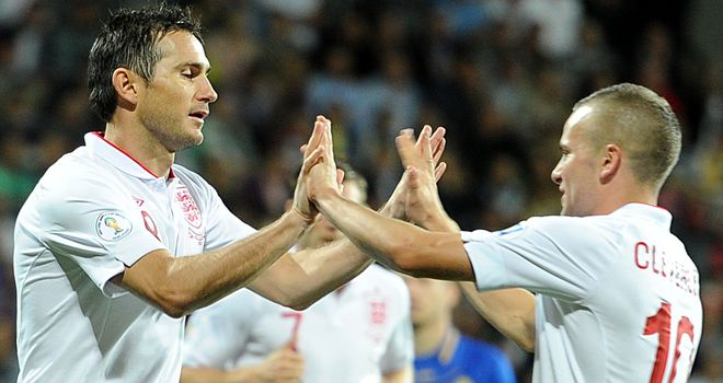 Frank Lampard and Tom Cleverley: Two very different styles of England midfielder