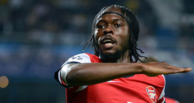 Gervinho: The Arsenal forward has scored five goals in as many games
