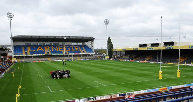 Aaron Brown quits Headingley for Dewsbury