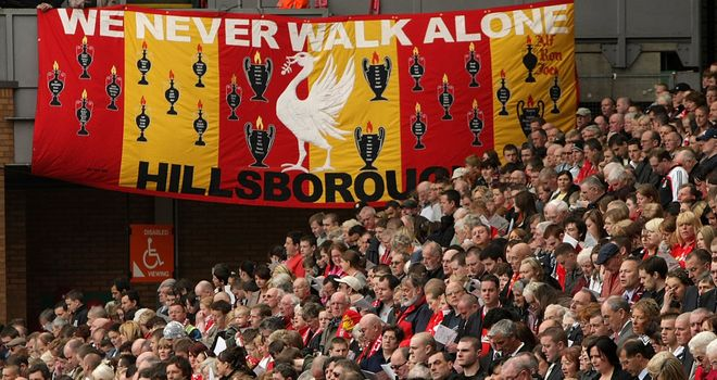Liverpool: Planning more Anfield tributes to Hillsborough victims against Manchester United
