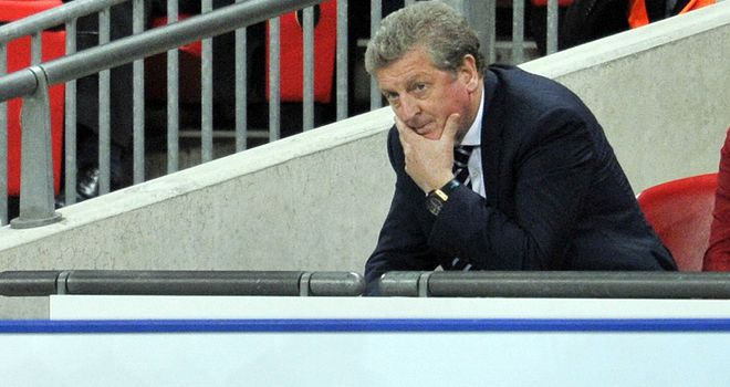 Roy Hodgson's England have dropped two places to fifth in the latest world rankings