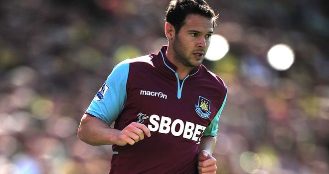 Matt Jarvis: Knows West Ham face a testing run of fixtures