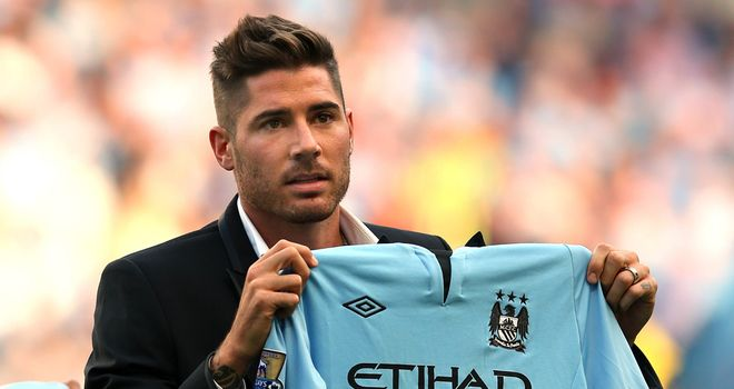 Javi Garcia: Aware that he faces stiff competition for places at Manchester City