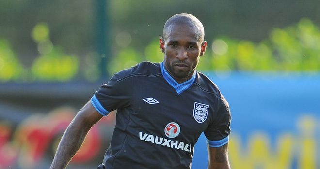 Jermain Defoe: Scored a hat-trick when starting England's first game in qualifying for Euro 2012