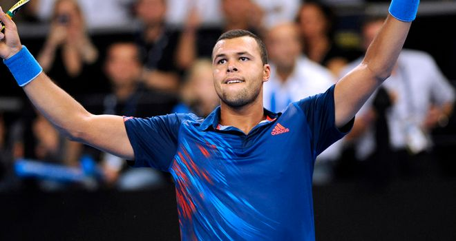 Jo-Wilfried Tsonga: Will meet Sergiy Stakhovsky in next round in Stockholm