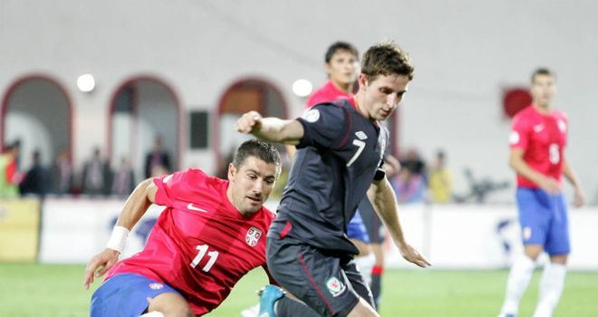 Joe Allen: Wales midfielder says the players are to blame for the 6-1 defeat by Serbia