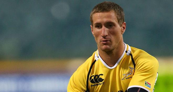 Johan Goosen: Replaces Morne Steyn in the South Africa side