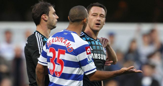 John Terry: Set to feature for Chelsea against Queens Park Rangers and will take part in pre-match handshake