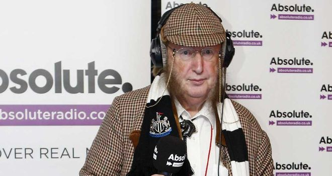 John McCririck: Taken ill on Tuesday
