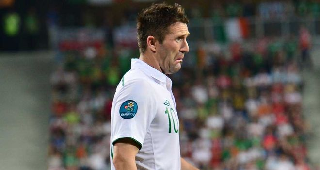 Robbie Keane: In a battle to be ready to face the Austrians on Tuesday