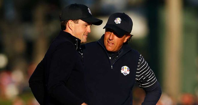 Keegan Bradley and Phil Mickelson: made their point again