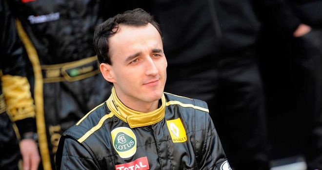 Robert Kubica: Still recovering from 2011 rallying accident