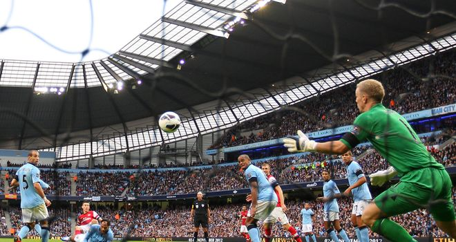 Laurent Koscielny: Equalised for Arsenal at Manchester City in the 82nd minute