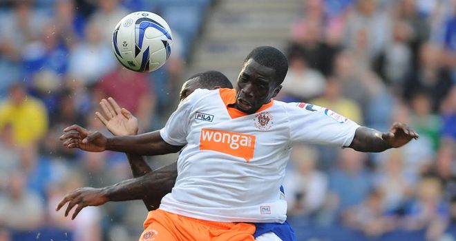 Nouha Dicko: Scored five times for Blackpool in this season's Championship