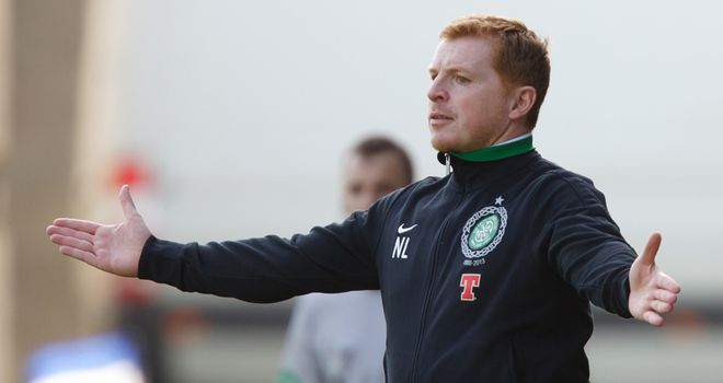 Neil Lennon: Unhappy with his side after the defeat to St Johnstone and has threatened to drop some players for Benfica test