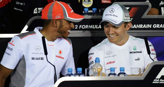 Hamilton will partner Nico Rosberg from 2013 onwards